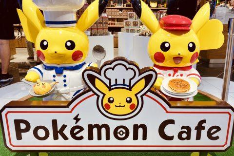 ポケモンカフェに行ってきました!